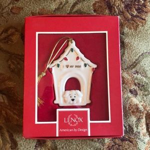 Lenox ornament I Love ❤️My Dog mint in box